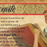 Celebração de Posse do Pe. Vittório Baggi, sss