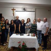 Visita da Coordenação Provincial da ALLS ao Cenáculo Caratinga