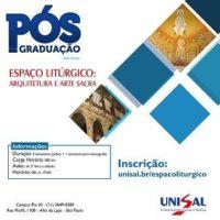 ESPAÇO LITÚRGICO:  ARQUITETURA E ARTE SACRA