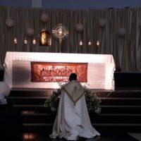Lucernário na Paróquia São Benedito e Nossa Senhora do Patrocínio