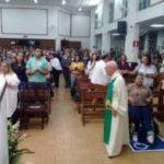 1º dia do Tríduo de São Pedro Julião Eymard em Sete Lagoas
