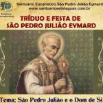 Tríduo e Festa de São Pedro Julião Eymard em Sete Lagoas