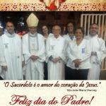 Santuário de Adoração de Sete Lagoas no dia do Pároco