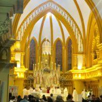 Concluída a reforma do Altar-Mor da Igreja Nossa Senhora da Boa Viagem