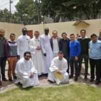 Renovação de votos dos Irmãos Christoph Mendy e Francisco Mendy
