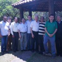 Encontro dos Ecônomos das Comunidades sss no Centro Emaús