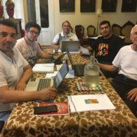 Reunião do Conselho Provincial e visita à comunidade ALLS em Buenos Aires