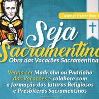 Obra das Madrinhas e Padrinhos das Vocações Sacramentinas