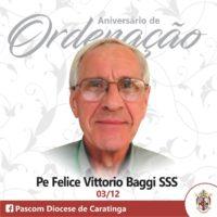 ANIVERSÁRIO DE ORDENAÇÃO DE PE. VITTÓRIO BAGGI, SSS
