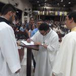 Renovação de votos do Irmão Felipe Janderson, sss