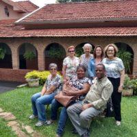 Coordenadora Provincial da ALLS e Pe. Renivaldo em visita à Uberaba
