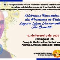 2 de fevereiro: celebração das promessas das novas leigas e leigos Sacramentinos em Fortaleza