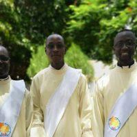 Três novos Padres para a Província Sacramentina Nossa Senhora da África.