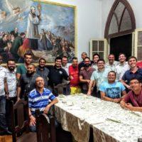 Abertura do ano Eymardiano para os Escolásticos SSS e do Pre-noviciado