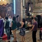 Paróquia santa Ifigênia celebra quarta-feira de cinzas