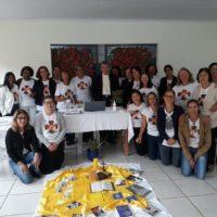 Leigas Sacramentinas de Paracatu na primeira reunião de formação de 2020