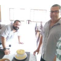 Aniversário Robson Reis - Colaborador Centro Emaús
