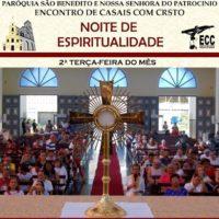 Encontro de espiritualidade na Paróquia São Benedito