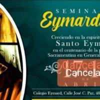Postergado el Seminario Eymardiano en el Colegio Eymard – Buenos Aires