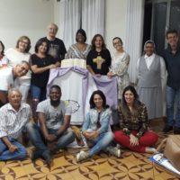 Ir. Elibien Joseph, sss realiza encontro de formação com os leigos e leigas sacramentinos de Caratinga