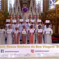 Oração e recolhimento: Sacramentinos realizam celebrações transmitidas pela internet