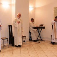 Celebração da Vigília Pascal na Comunidade SSS Cúria Geral
