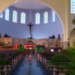 Celebração do Domingo de Ramos na Província N.S. de Guadalupe