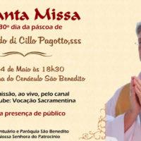 Santa Missa 30° da Páscoa de Dom Aldo Pagotto, sss