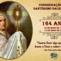 """Família Sacramentina celebra """"dia da Padroeira e dia da Fundação da Congregação"""""""