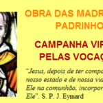 Campanha Virtual Pelas Vocações Sacramentinas – Madrinhas e Padrinhos