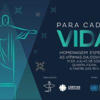 Cristo Redentor é cenário do primeiro grande tributo às vítimas da Covid-19 na próxima quarta-feira, às 19h
