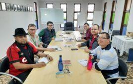 Encontro dos escolásticos com Provincial Pe. Marcelo Carlos, sss