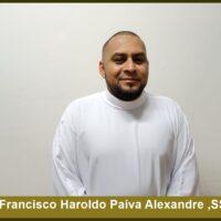 Conhecendo o futuro Diácono – Francisco Haroldo Paiva Alexandre, Sss