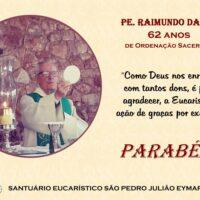 Aniversário Presbiteral Pe. Raimundo Dan, sss