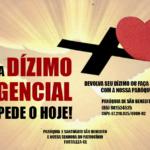 Campanha Dízimo emergencial Paróquia São Benedito e N.S. do Patrocínio – Fortaleza – CE