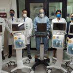 Hospital São Lucas de Porto Alegre recebe respiradores doados pelo Papa