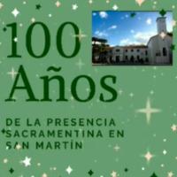 100 anos da fundação do Colegio Eymard - San Martín - Argentina.