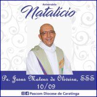 Aniversário Pe. Jesus Mateus de Oliveira, sss