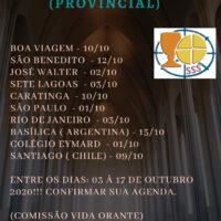 Outubro - Retiro Comunitário Provincial