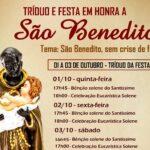 Tríduo em preparação para a Festa de São Benedito