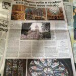 O jornal O Estado de Minas repercute a reabertura da igreja Nossa Senhora da Boa Viagem. Veja a reportagem