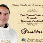 Aniversário de Ordenação Presbiteral Pe. Antônio Jackson, sss