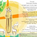 Ordenação Presbiteral Diác. Joel Fernandes Lopes, sss