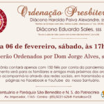 Ordenação Presbiteral do Diácono Haroldo, sss e Diácono Eduardo, sss