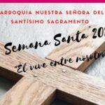 Programação Semana Santa Paróquia N. S. del Santísimo Sacramento – San Martín