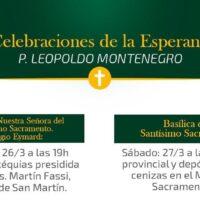 Celebrações da esperança - Padre Leopoldo Jiménez Montenegro, sss