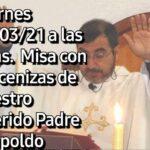 Missa em sufrágio pela alma de Pe. Leopoldo