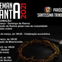Celebração Semana Santa Paróquia Santíssima Trindade