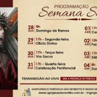 Celebração Semana Santa Paróquia São Benedito