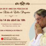 MISSA DE 01 ANO DA PÁSCOA DE DOM ALDO, SSS
